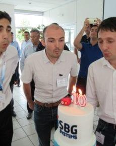 SBG anniversary