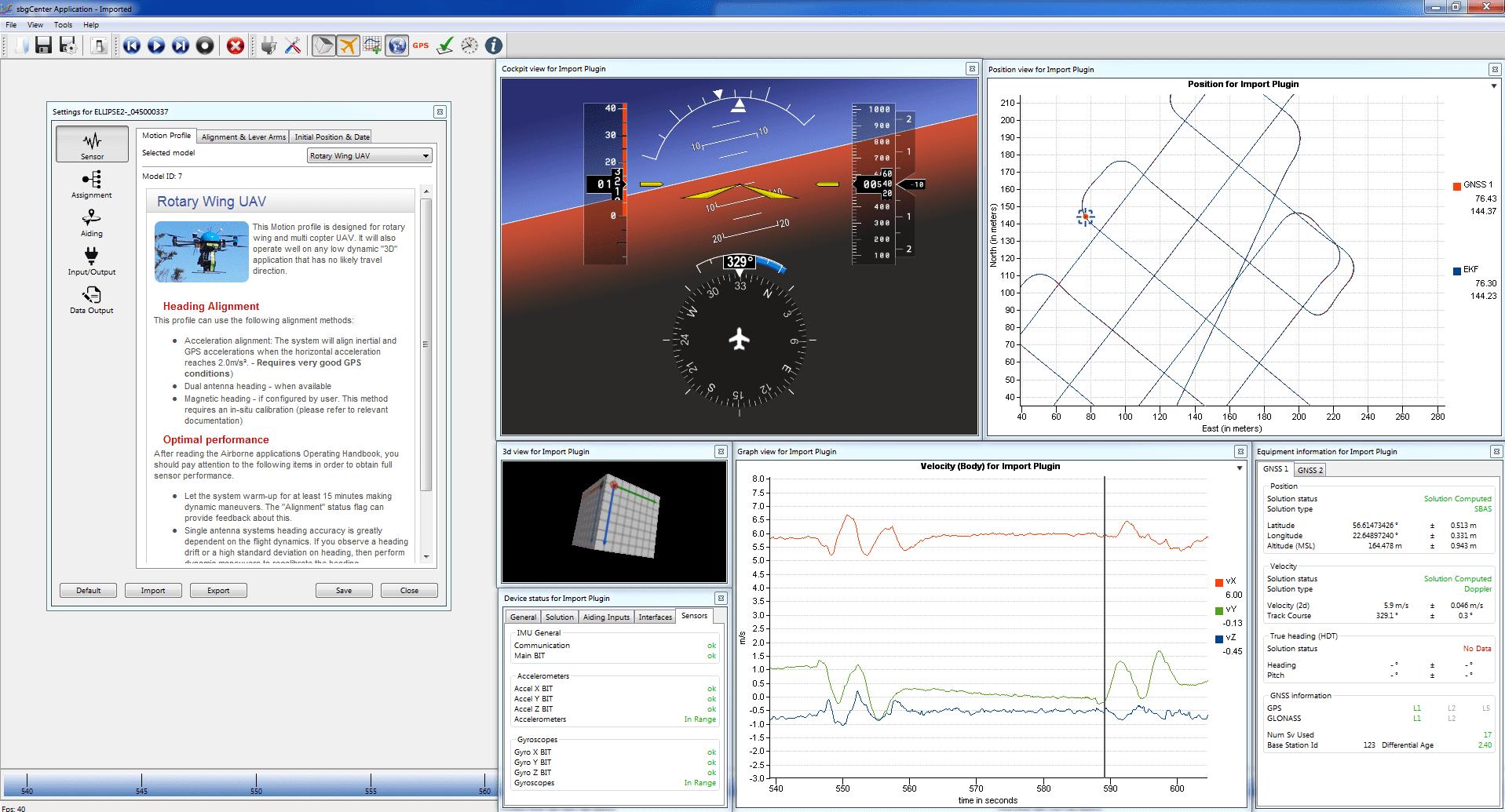 Development Kit - SBG Systems