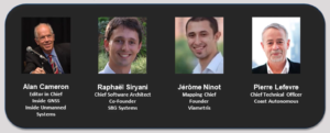 Inertial and SLAM webinar speakers
