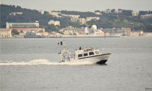 Shom survey speedboat intergating Navsight Apogee INS